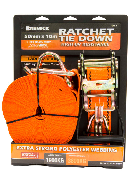 Ratchet Tie Down 1 Pack Various Sizes