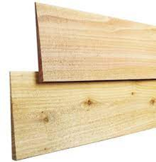Cedar Bevel Siding 190 x 18 Random Lengths Per L/M