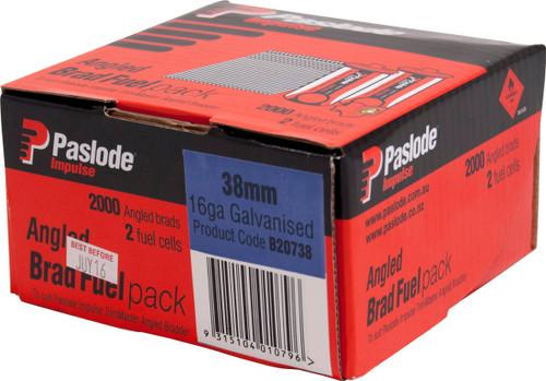 Paslode Impulse Angled Trim Master Box 2000 38mm