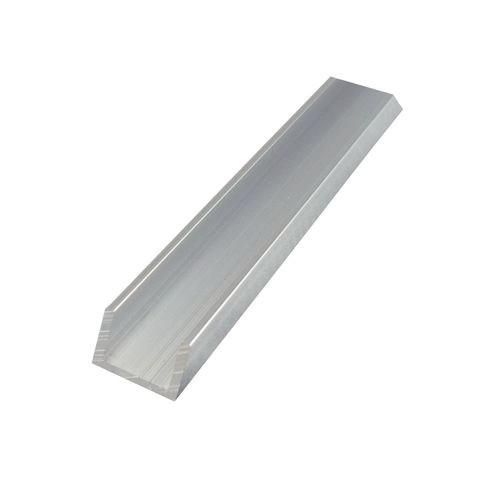 Aluminium Channel Mill Finish 12 x 20 x 3mm x 2.65m