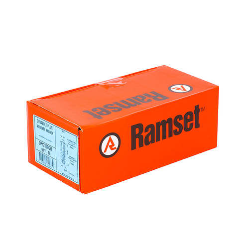 Canterbury Timber Buy Timber Online  Ramset Galvanised DynaBolt Plus Hex Nut 12mm - 20 Pack