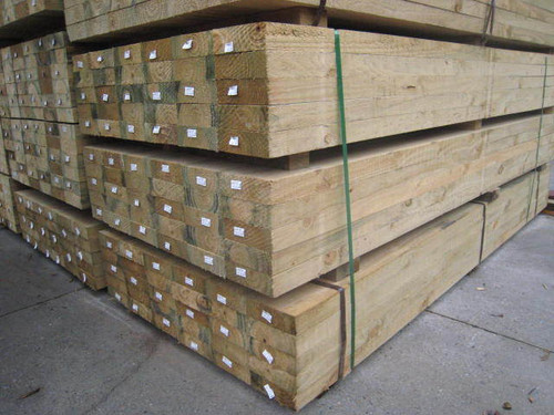 Canterbury Timber Buy Timber Online  TREATED PINE SLEEPERS 150 x 75