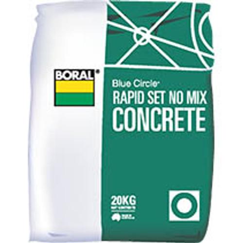 Canterbury Timber Buy Timber Online  Rapid Set No-Mix Concrete 20kg CRS20