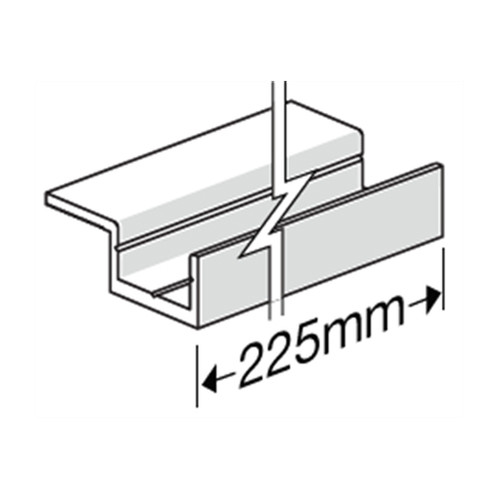 Canterbury Timber Buy Timber Online  HardieDeck Single Winged Base Jointer & Screw - 35 Pack 306011