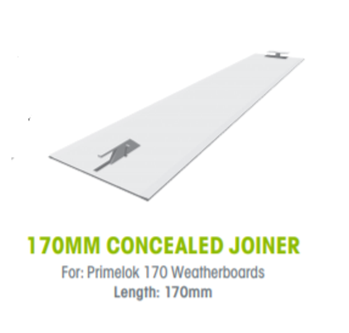 Buy Weathertex 170mm Concealed Joiners  - Pack of 25 Online at Canterbury Timber