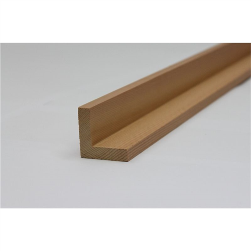 Canterbury Timber Western Red Cedar Corner Angle - 30 x 30 mm - Random Lengths