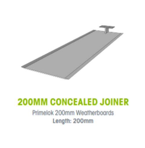 Buy Weathertex 200mm Concealed Joiners  - Pack of 25 Online at Canterbury Timber
