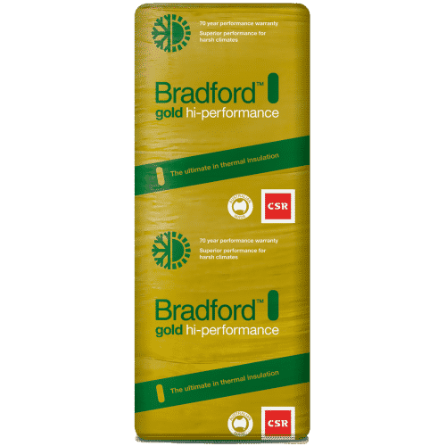 Buy Bradford Hi-Performance Gold Wall Batts 1160 x 420 - R2.5 - 8 Pack Online at Canterbury Timber