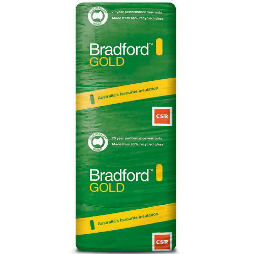 Buy Bradford Gold Insulation Ceiling Batts 1160 x 580 - R3.5 - 10 Pack Online at Canterbury Timber