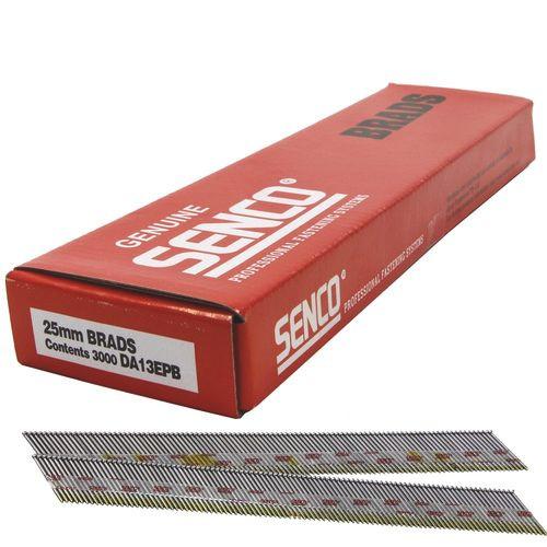 Buy Senco Brads DA13 Stainless Steel 25mm x 1.75mm Box 1,000 Online at Canterbury Timbers