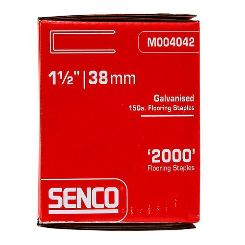 Buy Senco M004042 Floor Staples 38mm Box of 2,000 Online at Canterbury Timbers