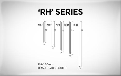 Buy Senco RH15EAA RH Series Angle 32mm x 1.60mm Brad Nails C Galvanised Wire Box of 2,000 Online at Canterbury Timbers