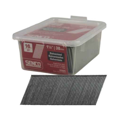 Buy Senco RH17EAA RH Series Angle 38mm x 1.60mm Brad Nails C Galvanised Wire Box of 2,000 Online at Canterbury Timbers