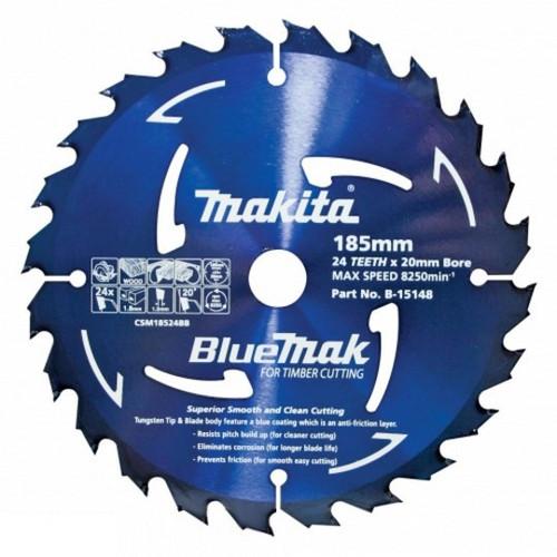 Makita 160mm x 40T Saw Blade 20mm Bore