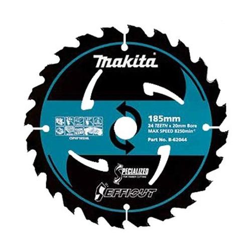 Makita Efficut 185mm x 20 x 24T TCT Saw Blade