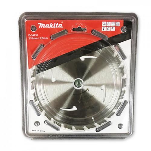 Makita Multi Purpose TCT Saw Blade 210mm x 25 x 24T - Circular Saw