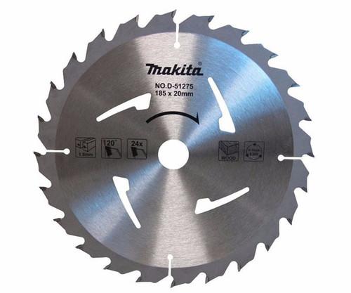 Makita 185mm x 20mm x 24t Economy TCT Saw Blade