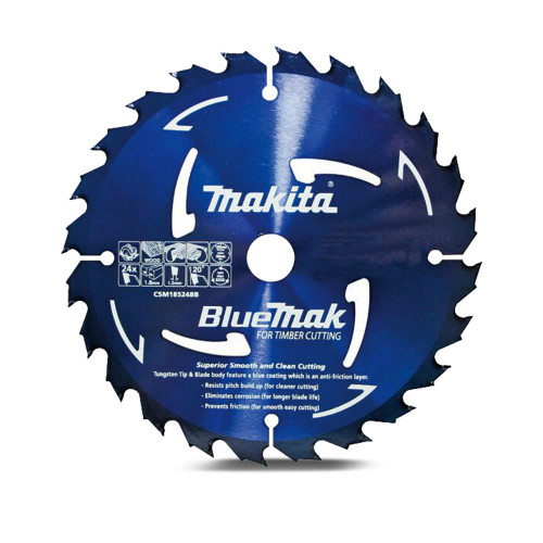 Makita 185mm x 40T Saw Blade 20mm Bore
