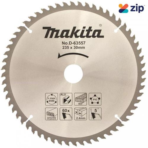 Makita Multi Purpose TCT Saw Blade 235mm x 30 x 60T - Circular Saw