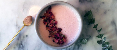 The Rosey Glow, The Only Rose Latte You Need to Know About