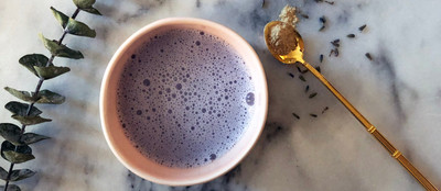Our Lavender Latte is the Sleep Tonic You Need to Make Tonight