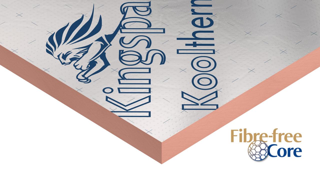pack of 8 60mm Kooltherm K5 External Wall Board Kingspan