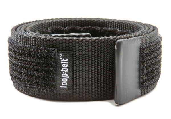 Loopbelt  35mm Black Buckleless Belt