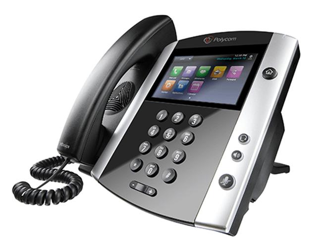 Polycom Replacement Handset VVX HDvoice 2200-17680 300 310 400 410 500 600 1500