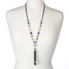 Indigo Evening Chain Lanyard