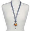 Be Grateful Ribbon Lanyard with Detachable Badge Reel