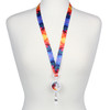 Give Love Laugh Lots Ribbon Lanyard with Detachable Reel