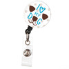 I Love My Dog Badge Reel