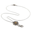 Topaz Bloom ID Necklace Lanyard