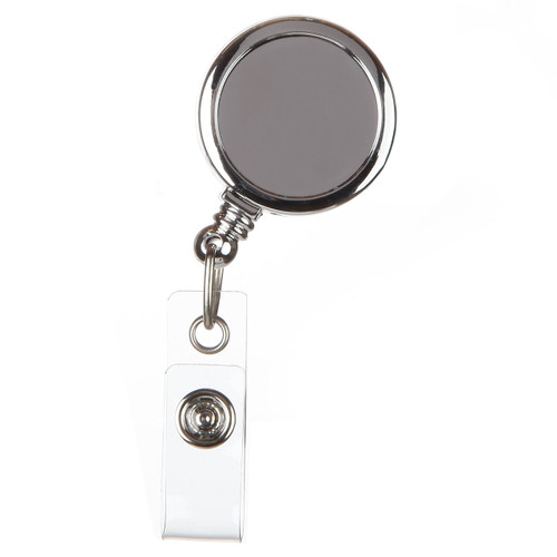 Basic Silver Badge Reel