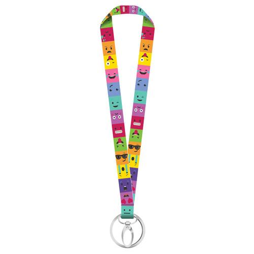 Emoji Key Ribbon Lanyard