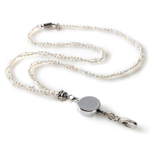Marlene ID Necklace with detachable reel