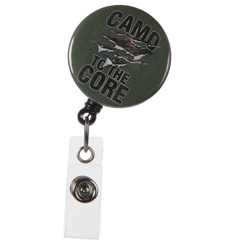 Camo To The Core Badge Reel