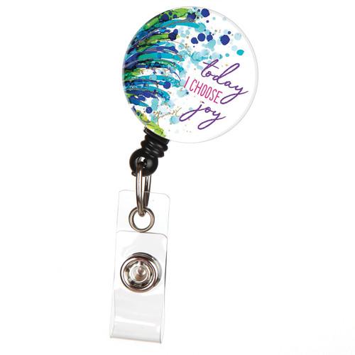 Today I Choose Joy Lovitude Badge Reel