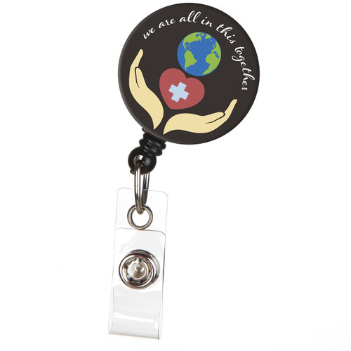 We're All in this Together - Hands & Heart Badge Reel