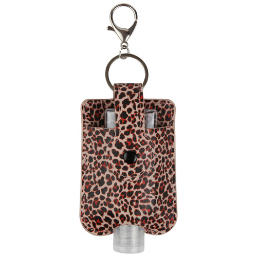 Leopard Hand Sanitizer Holder