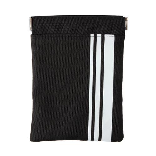 Black & White Stripe Pouch