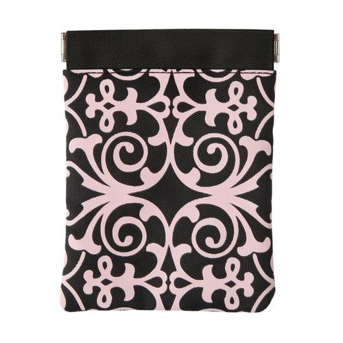 Essentials Pink Scroll Pouch