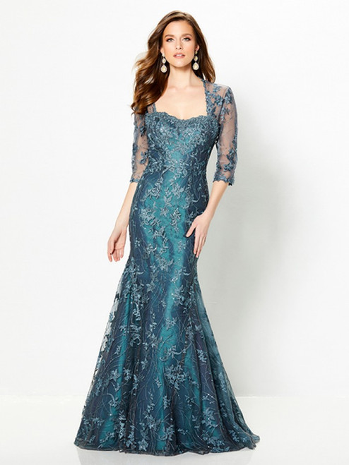 Detachable Sleeve - Flare Gown