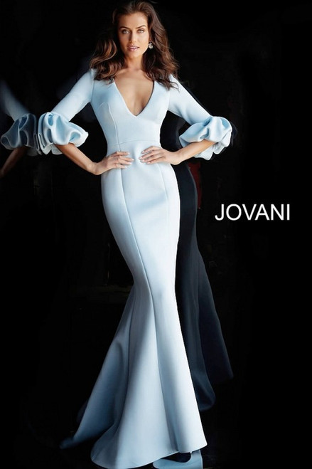 Long Sleeve Scuba Gown