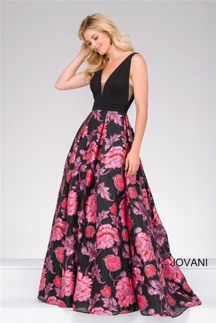 Sheerside Ball Gown W/ Pockets