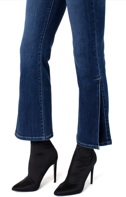 Gia Crop Flare Jean