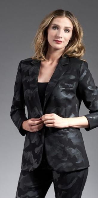 Dark Camo Scuba Jacket