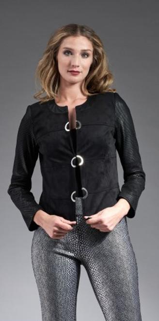 Novelty Black Net Jacket