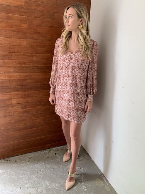 Emma Snake Print Dress