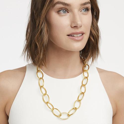 Fleur-de-lis Gold Necklace